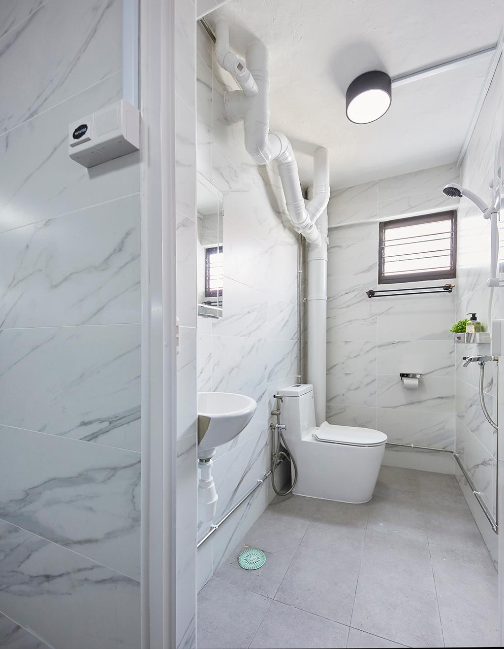 Contemporary, HDB, Bathroom, Ubi Avenue 1, Interior Designer, The Interior Lab, Scandinavian