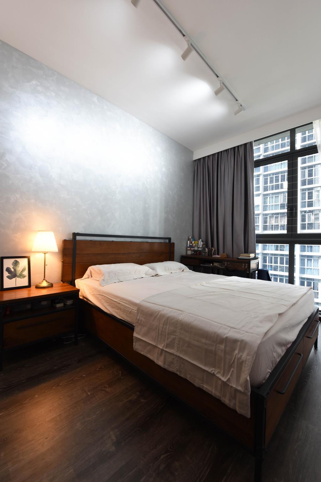 Contemporary, Condo, Bedroom, Symphony Suites, Interior Designer, Starry Homestead, Scandinavian