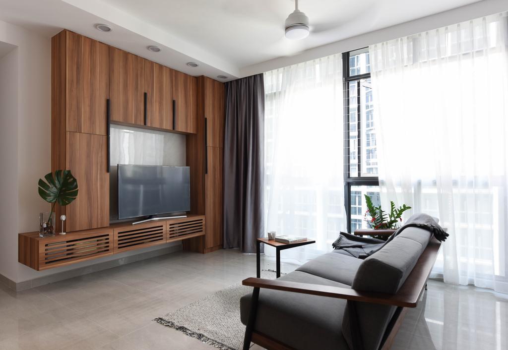 Contemporary, Condo, Living Room, Symphony Suites, Interior Designer, Starry Homestead, Scandinavian
