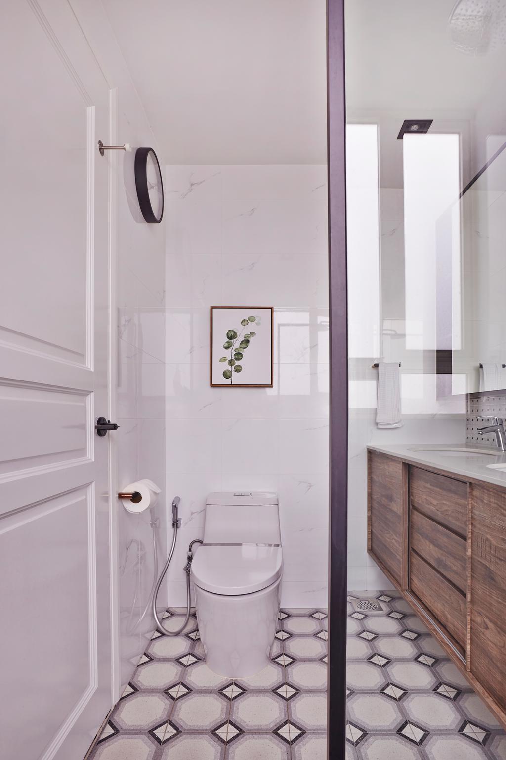 Modern, Condo, Bathroom, Goldenhill, Interior Designer, Fuse Concept, Eclectic