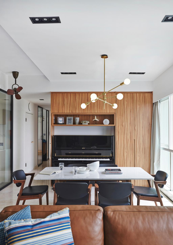 Modern, Condo, Dining Room, Goldenhill, Interior Designer, Fuse Concept, Eclectic