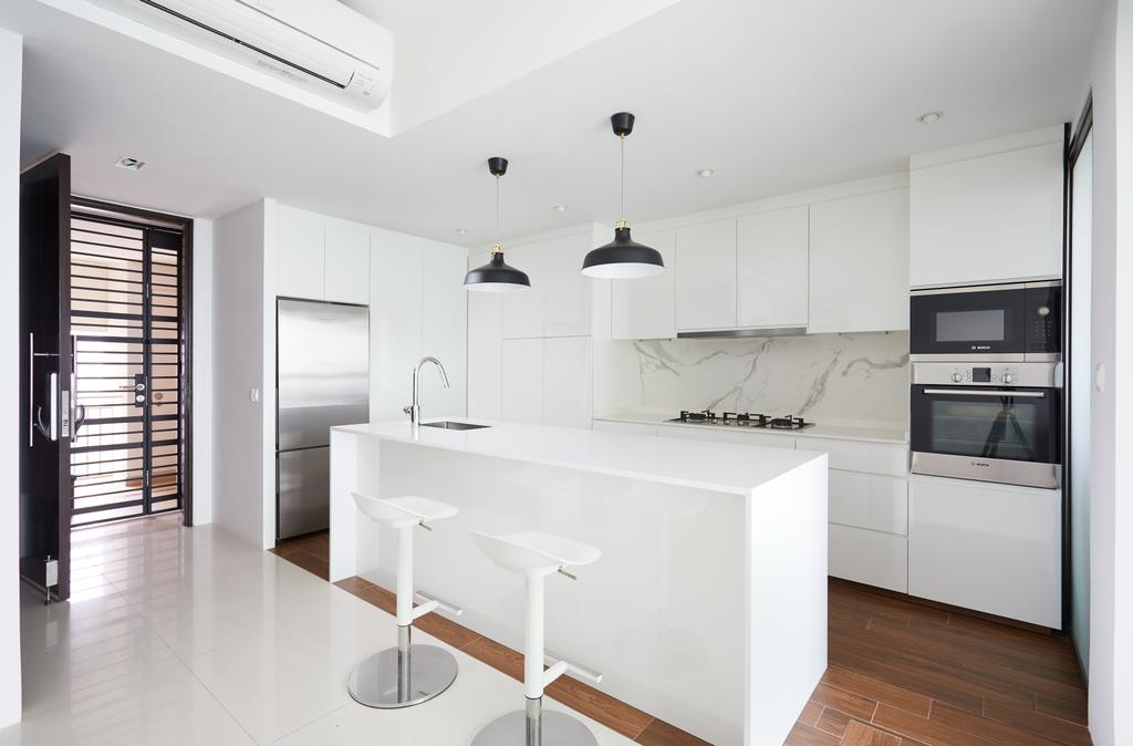 Minimalist, Condo, Dining Room, City Lights, Interior Designer, Design 4 Space