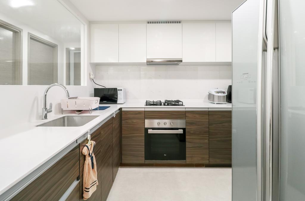 Modern, Condo, Kitchen, The Terrace, Interior Designer, Design 4 Space