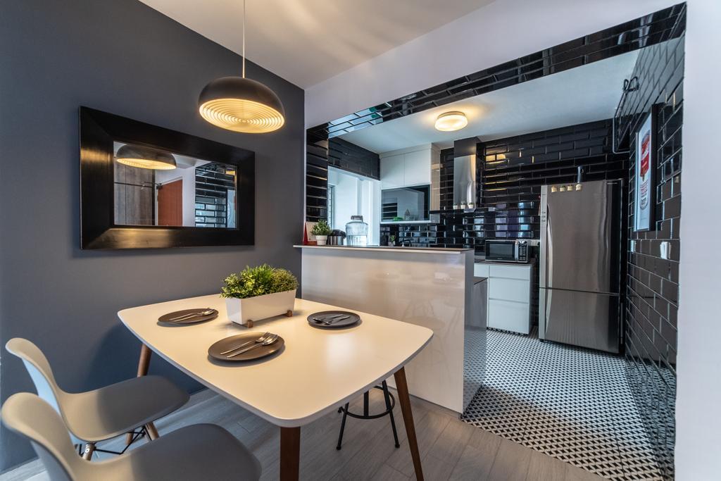 Industrial, HDB, West Valley, Interior Designer, Design 4 Space