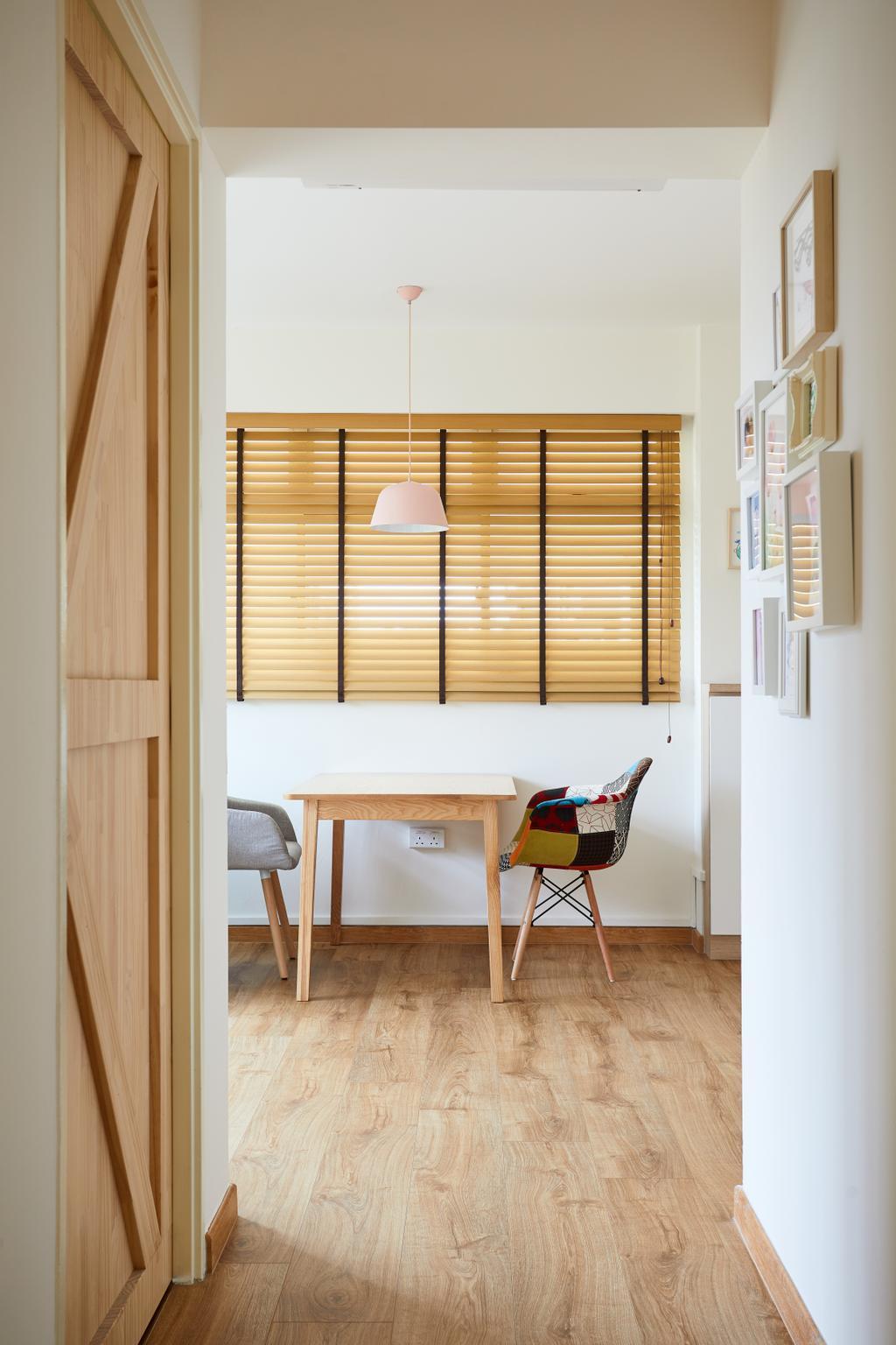 Scandinavian, HDB, Dining Room, Punggol Drive (Block 306D), Interior Designer, Design 4 Space