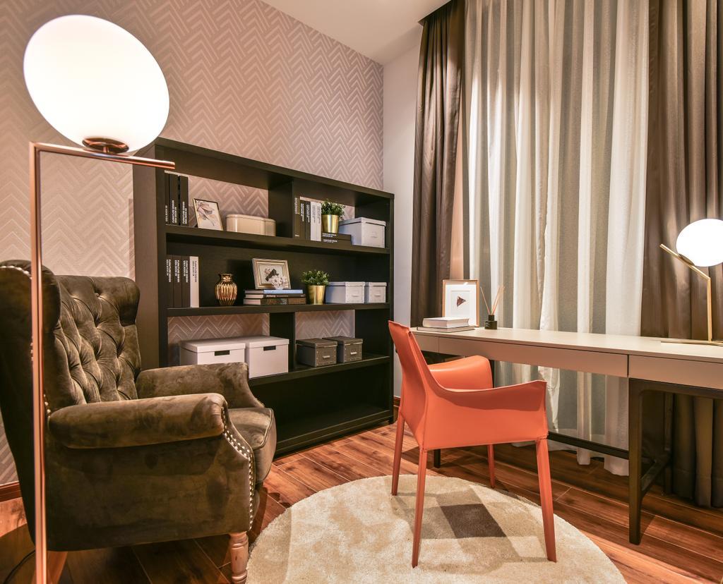 Modern, Condo, Bedroom, Picasso Residence, Jalan Jelantak, Interior Designer, SQFT Space Design Management, Contemporary