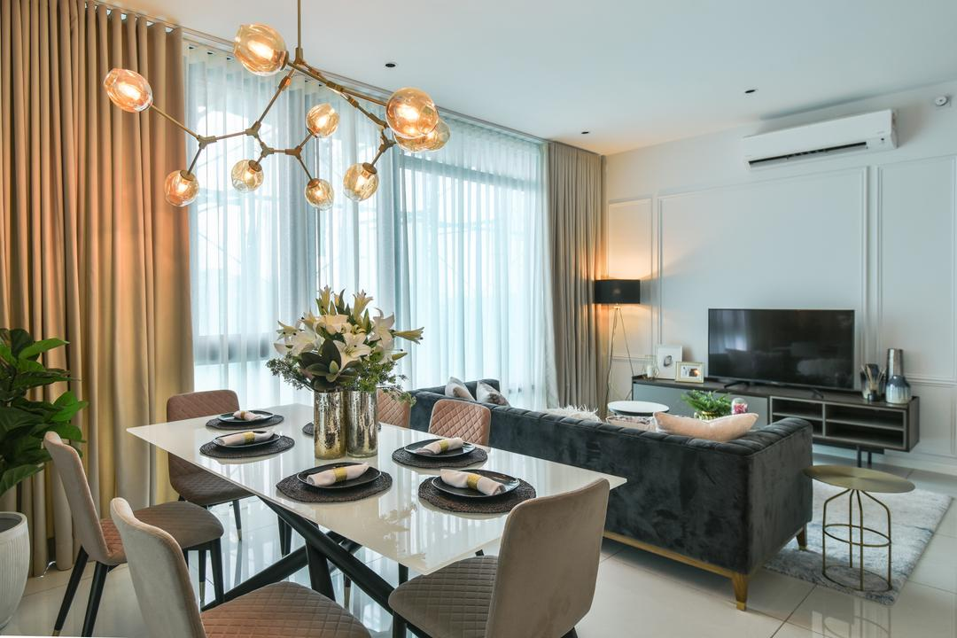 Picasso Residence, Jalan Jelantak by SQFT Space Design Management