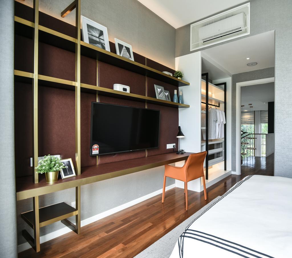 Modern, Condo, Viluxe Villa, Pulau Pinang, Interior Designer, SQFT Space Design Management, Contemporary