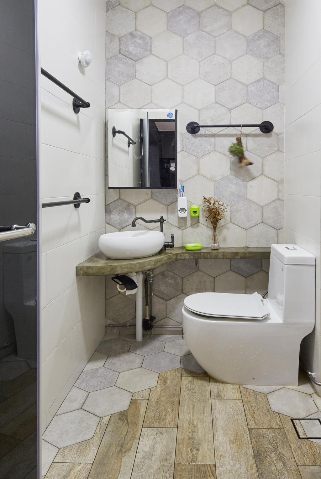 Modern, HDB, Bathroom, Bukit Batok East (Block 286), Interior Designer, i-Chapter