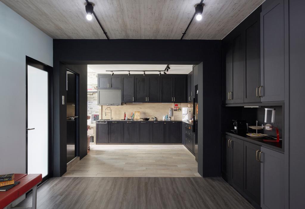 Modern, HDB, Kitchen, Bukit Batok East (Block 286), Interior Designer, i-Chapter