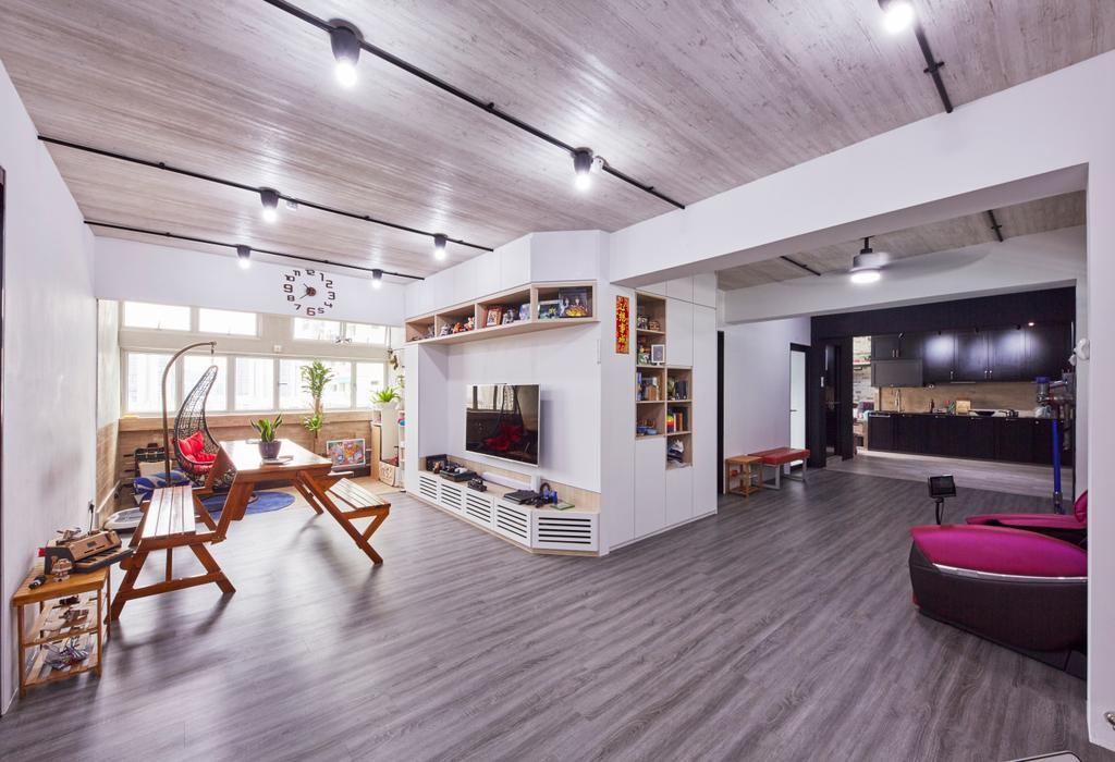 Modern, HDB, Living Room, Bukit Batok East (Block 286), Interior Designer, i-Chapter