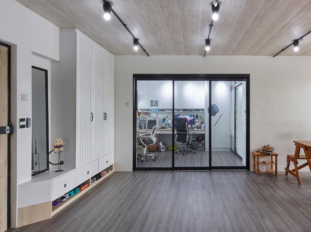 Modern, HDB, Study, Bukit Batok East (Block 286), Interior Designer, i-Chapter