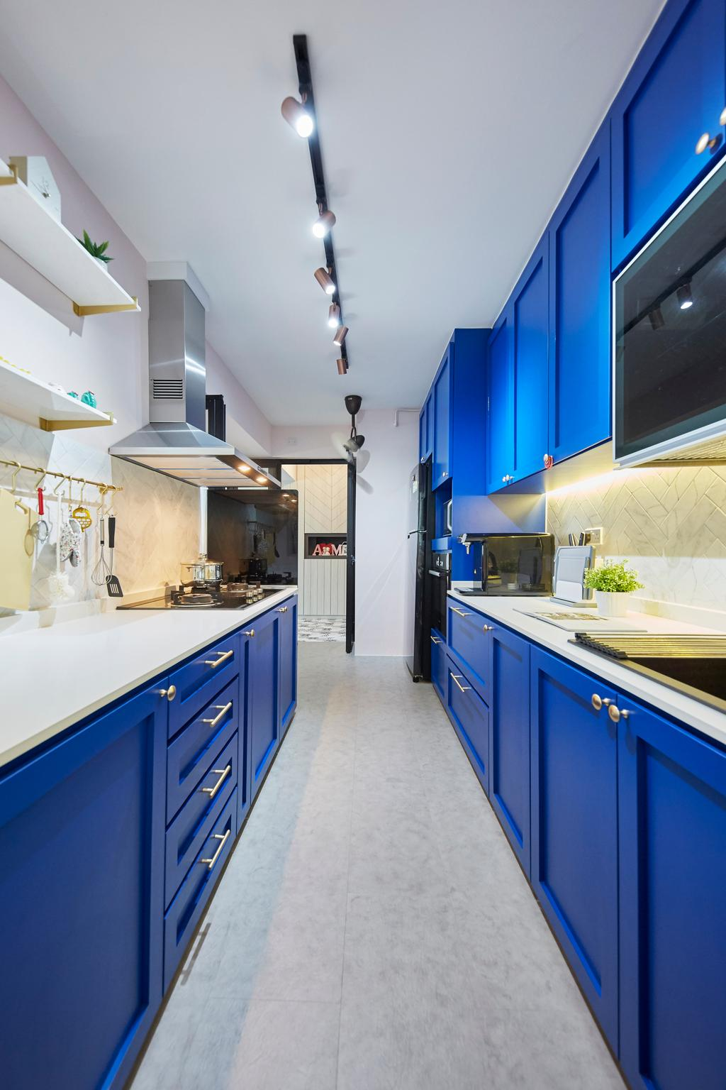 Eclectic, HDB, Kitchen, Telok Blangah Street 31, Interior Designer, i-Chapter