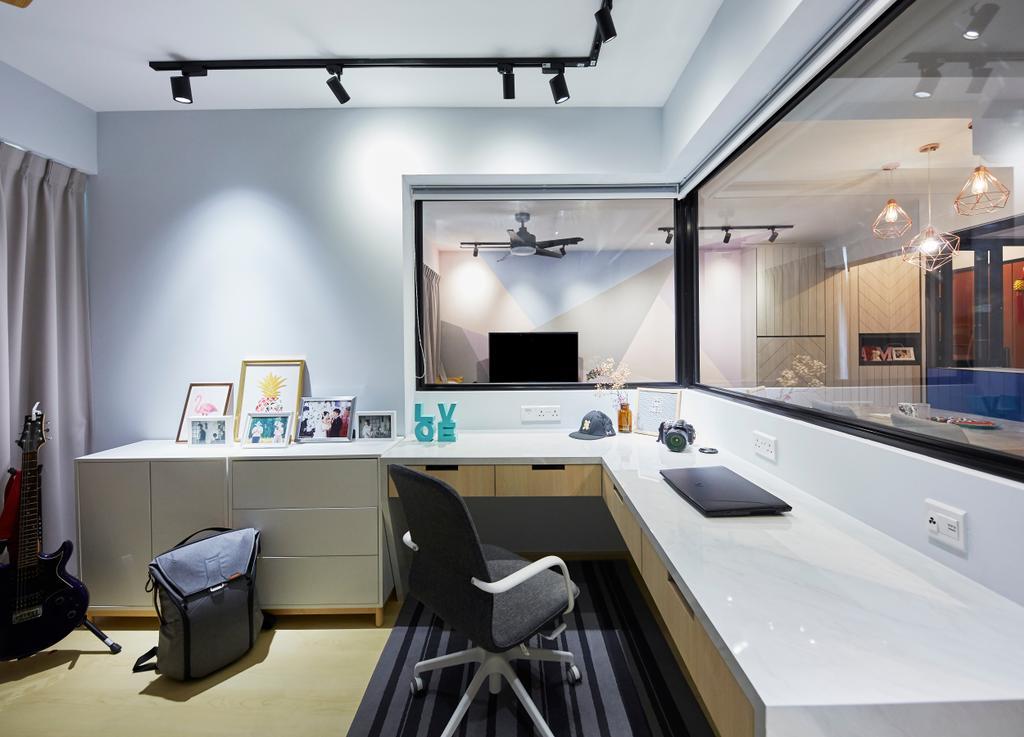 Eclectic, HDB, Telok Blangah Street 31, Interior Designer, i-Chapter