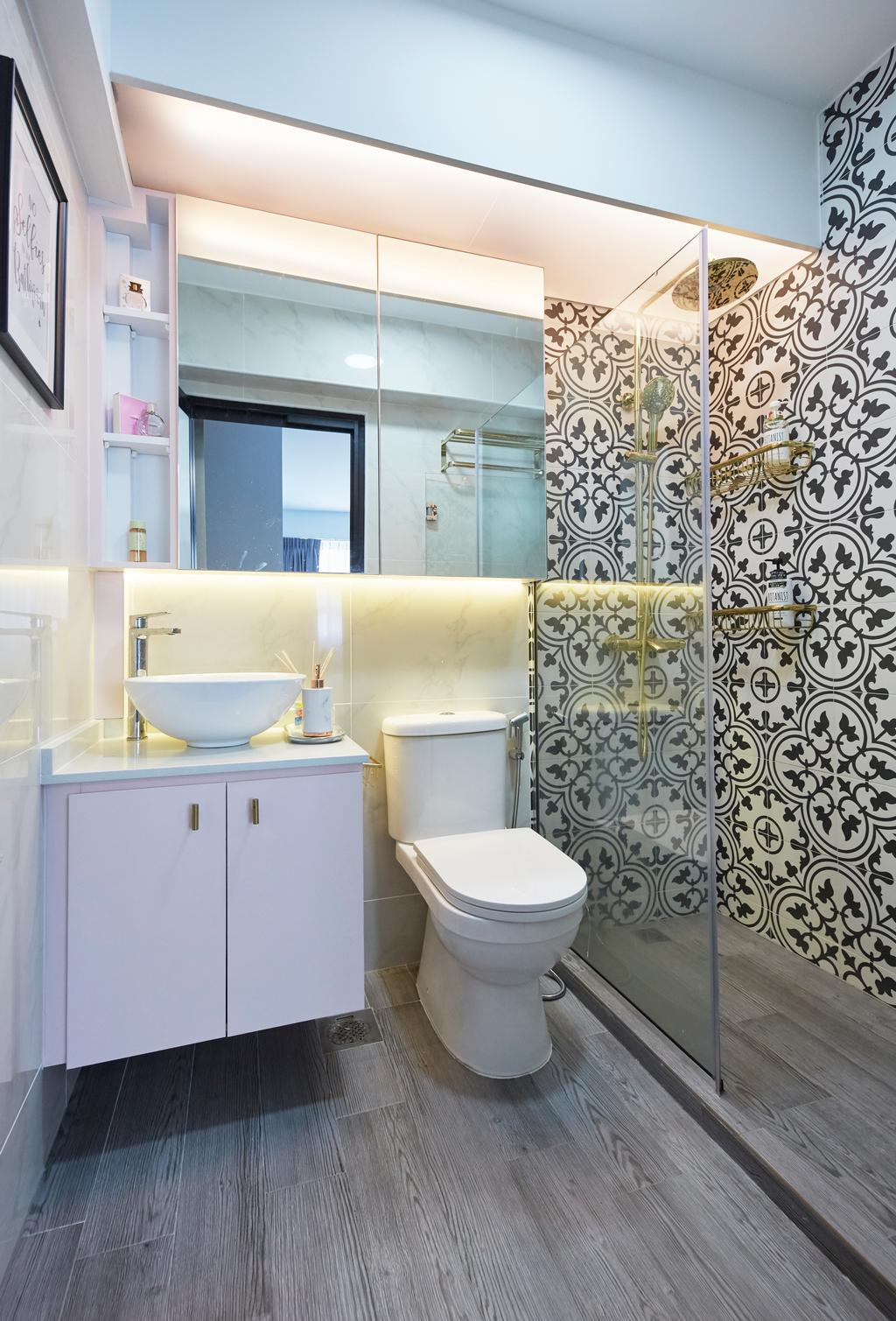 Eclectic, HDB, Bathroom, Telok Blangah Street 31, Interior Designer, i-Chapter