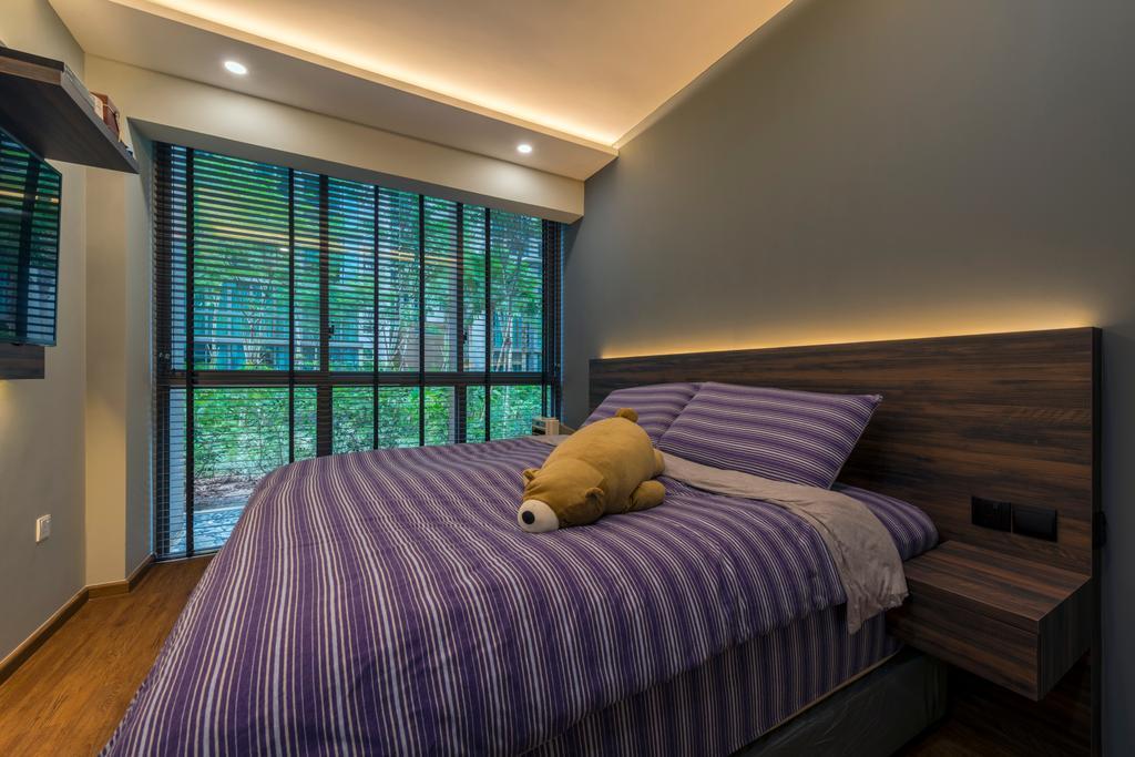 Contemporary, Condo, Bedroom, The Terrace, Interior Designer, Earth Interior Design Pte Ltd