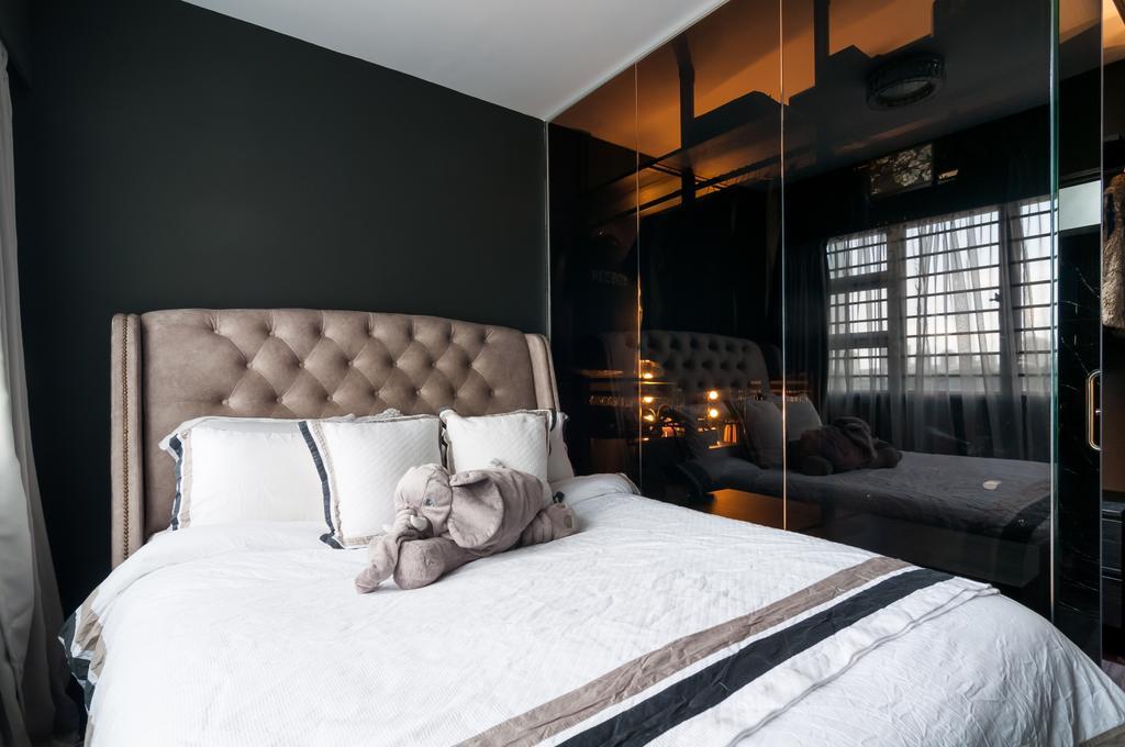 Modern, HDB, Bedroom, Bukit Batok (Block 445B), Interior Designer, Livinci Interior
