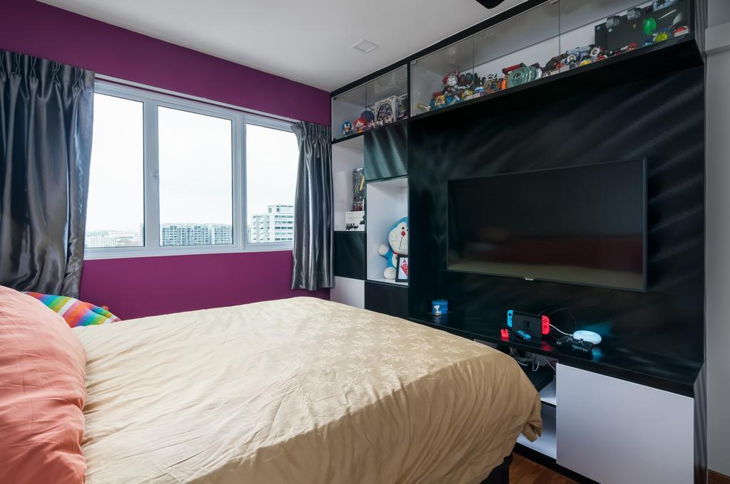Minimalist, HDB, Bedroom, Ang Mo Kio Avenue 6 (Block 714), Interior Designer, Livinci Interior, Modern