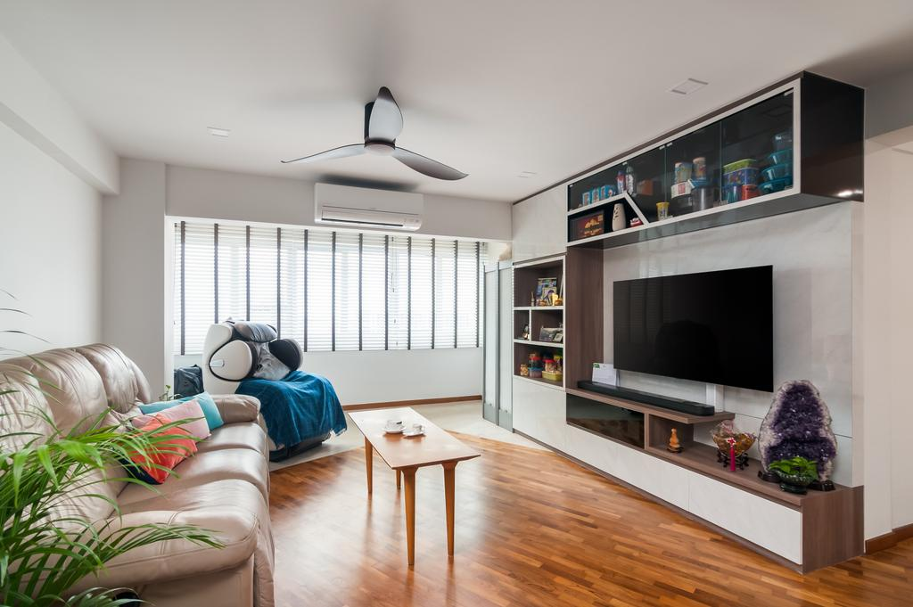 Minimalist, HDB, Living Room, Ang Mo Kio Avenue 6 (Block 714), Interior Designer, Livinci Interior, Modern