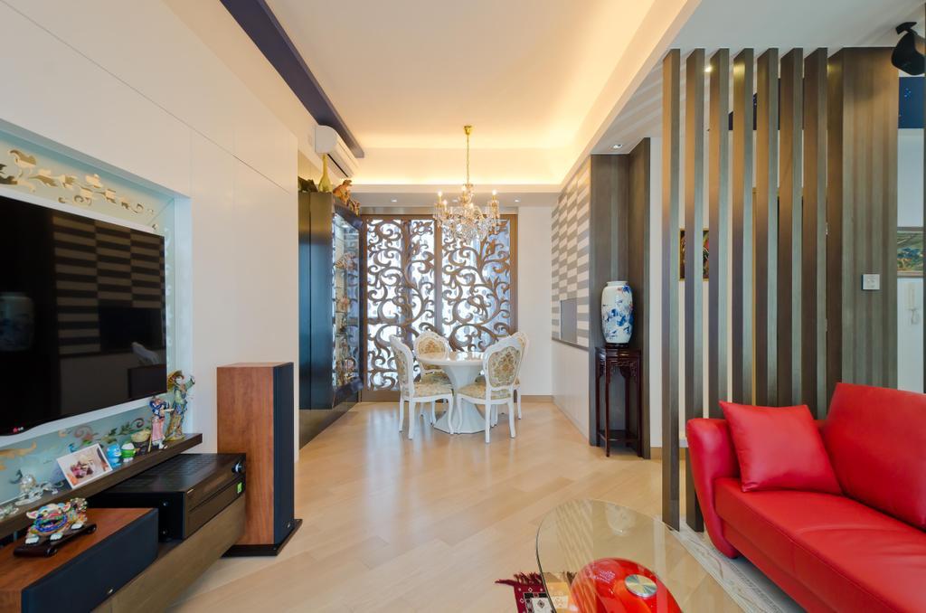 私家樓, 客廳, 天晉 8 座 C 室, 室內設計師, 現時設計