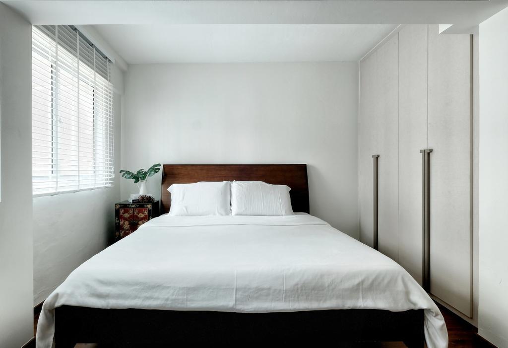 Contemporary, HDB, Bedroom, Shunfu Road, Interior Designer, United Team Lifestyle