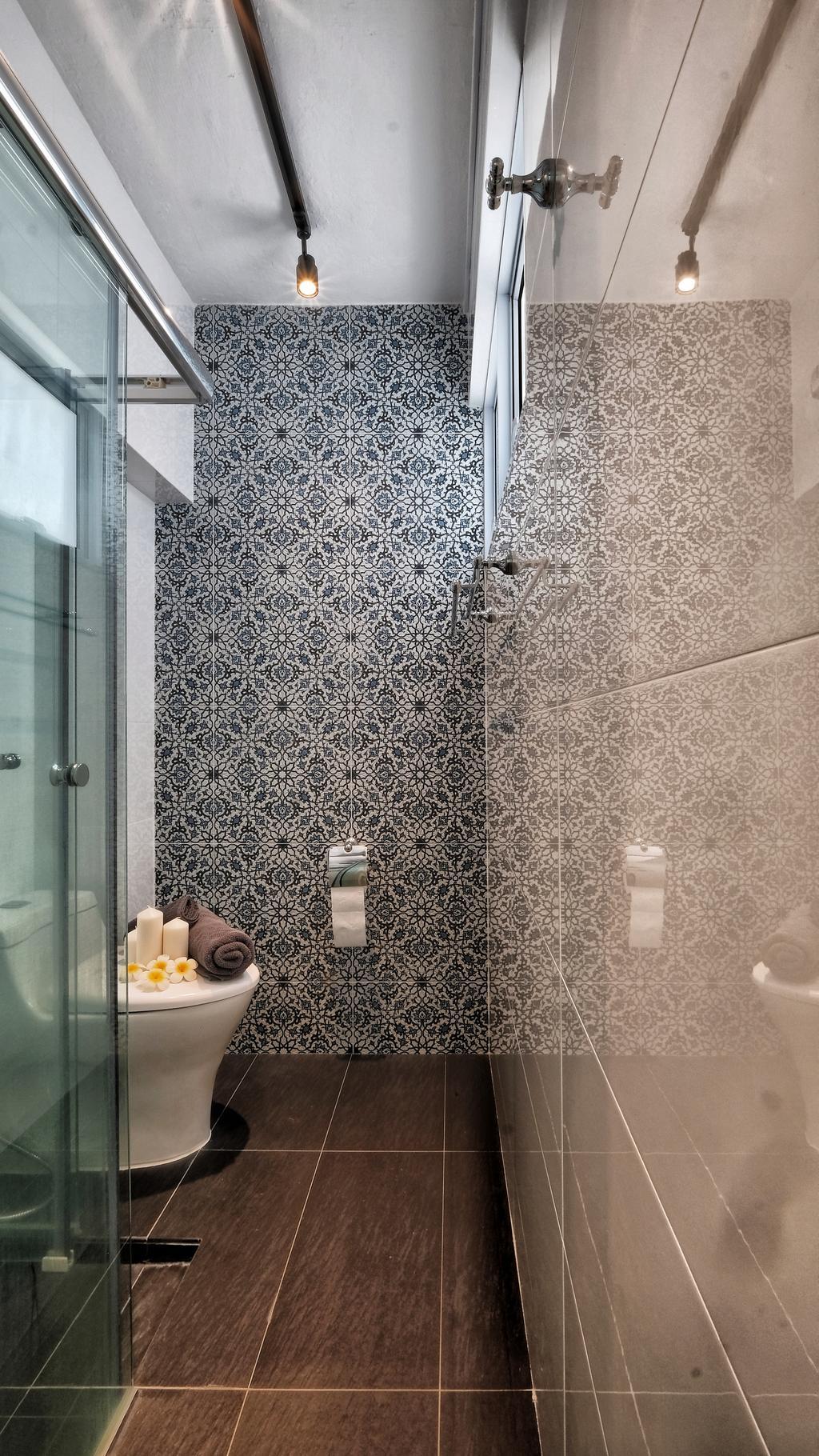 Contemporary, HDB, Bathroom, Shunfu Road, Interior Designer, United Team Lifestyle