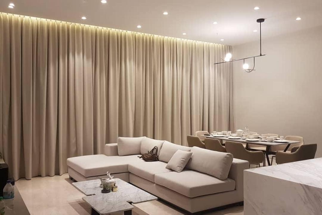 The Astaka @ One Bukit Senyum JB Living Room Interior Design 1