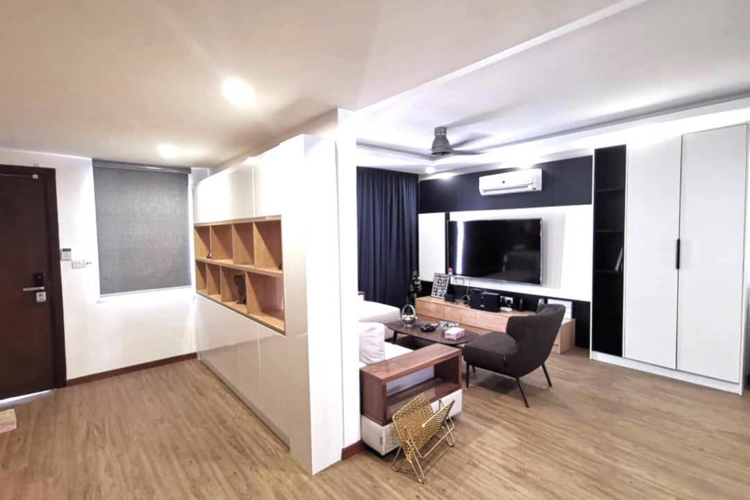 Double Storey @ Jalan SS18/2 Living Room Interior Design 3
