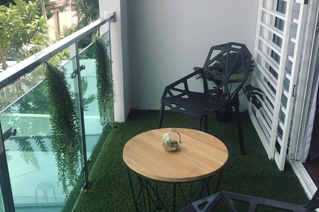 Jalan SS18/2, Subang Jaya, Muse Design Group Sdn Bhd, Contemporary, Minimalistic, Balcony, Landed