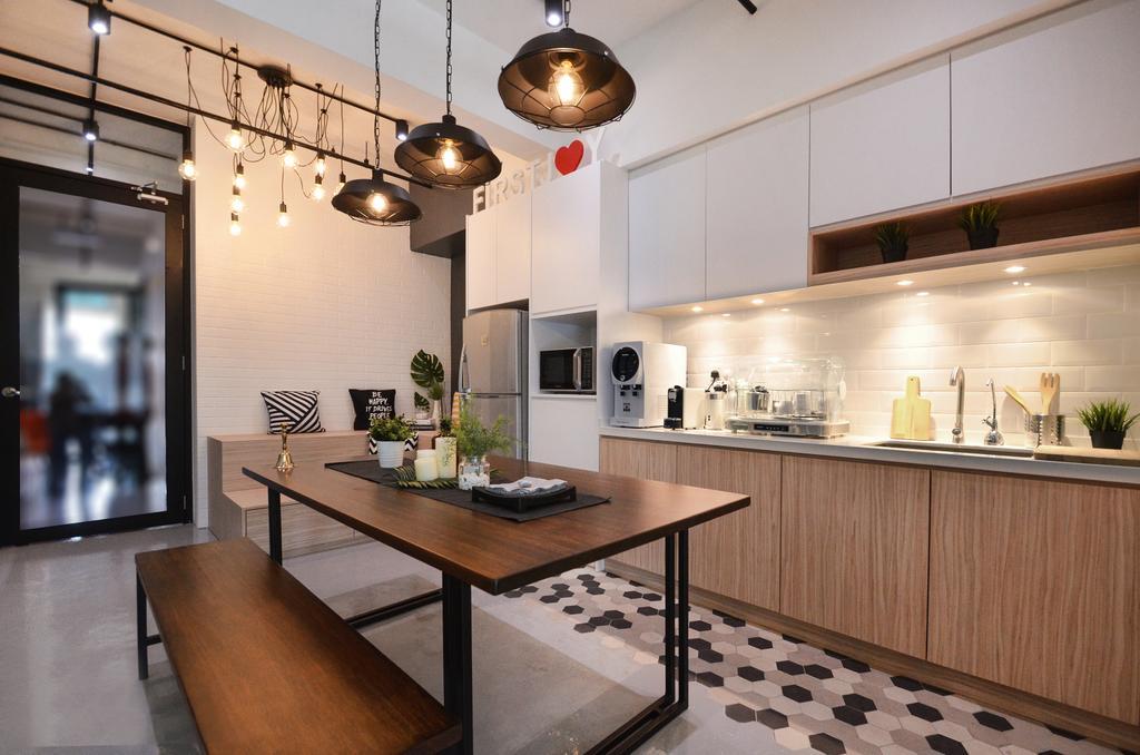 Sunway Geo, Sunway, Commercial, Interior Designer, RK Interior Studio, Modern, Industrial