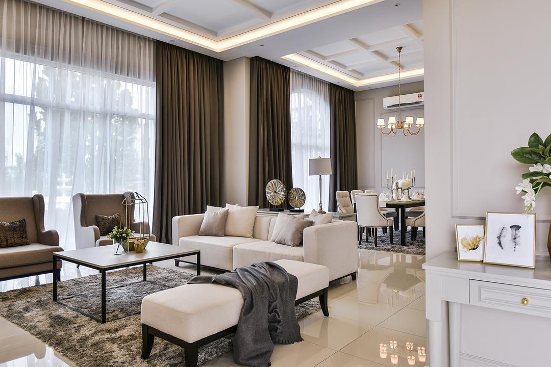 Kingsville Show Unit Living Room Interior Design 2