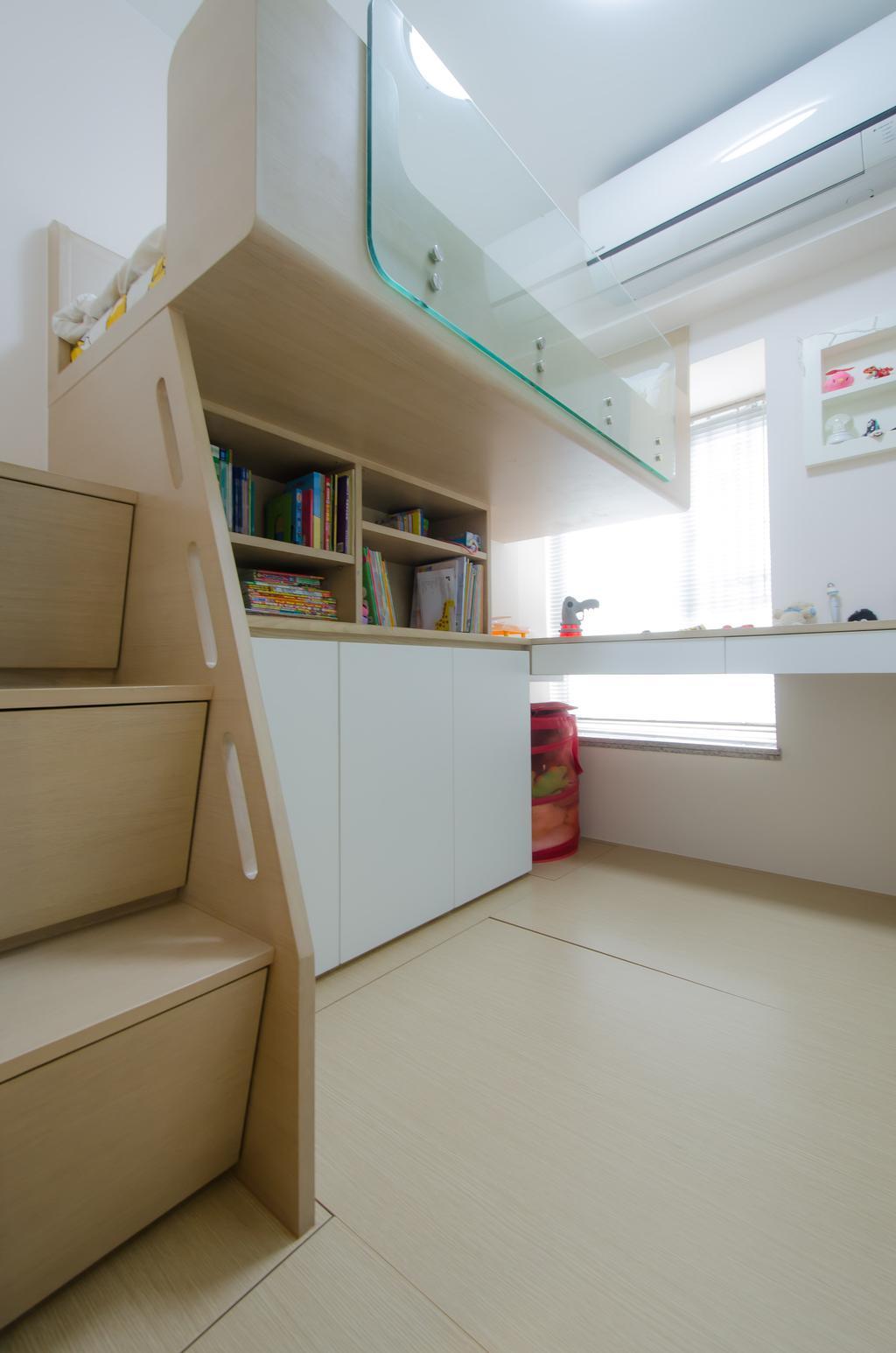 簡約, 私家樓, 睡房, 怡心園, 室內設計師, 現時設計