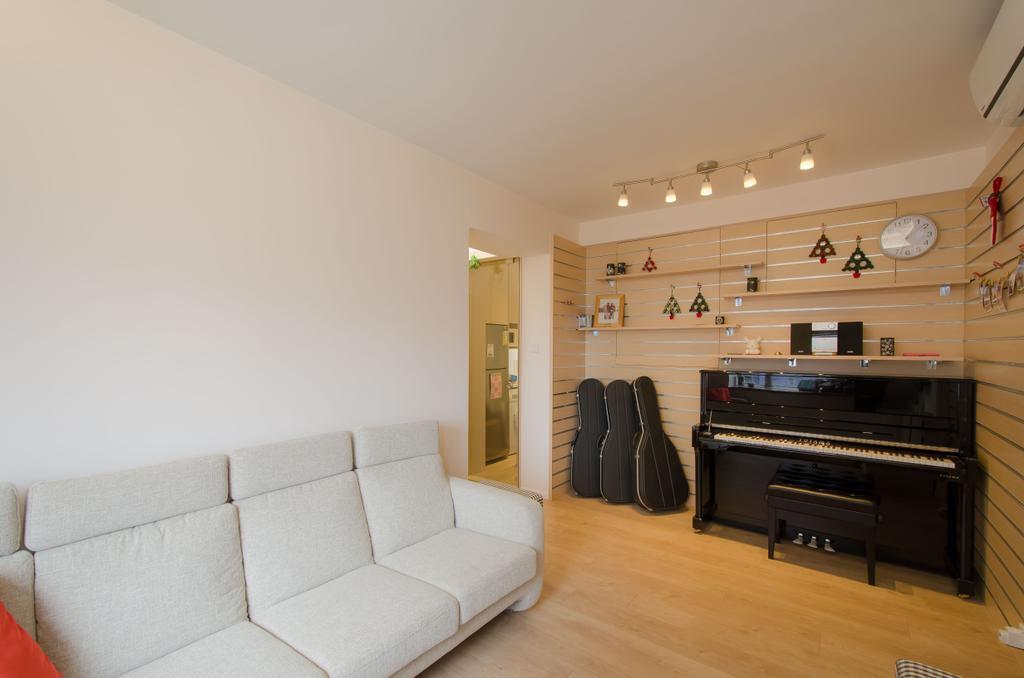 簡約, 私家樓, 客廳, 怡心園, 室內設計師, 現時設計