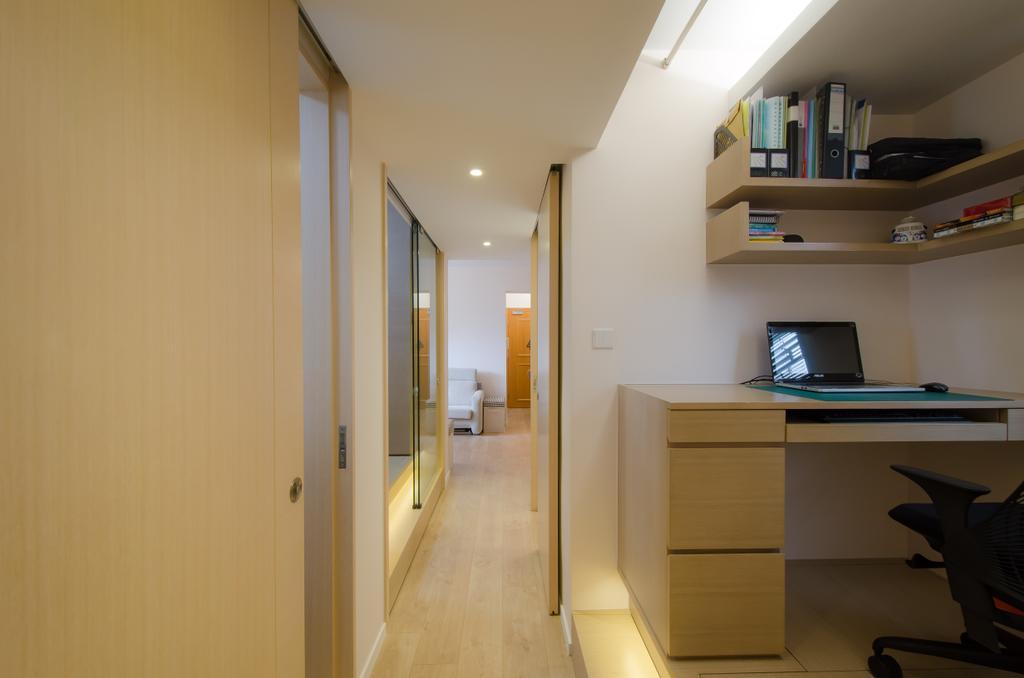 簡約, 私家樓, 書房, 怡心園, 室內設計師, 現時設計