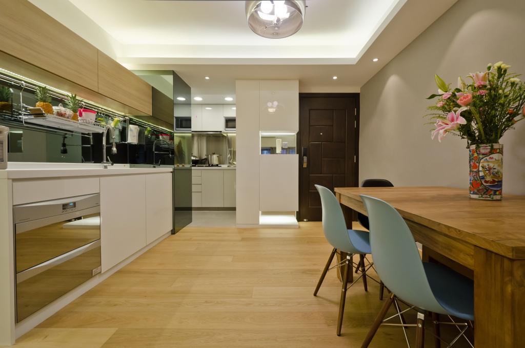 簡約, 私家樓, 飯廳, 和富中心, 室內設計師, 現時設計