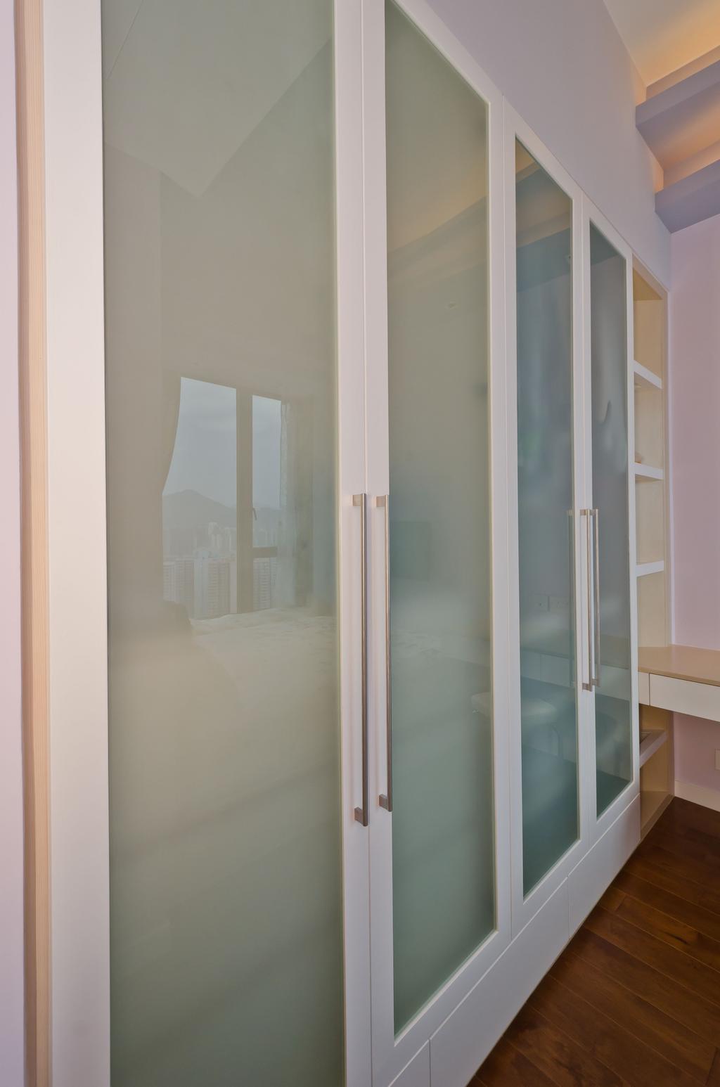 私家樓, 睡房, 天晉8座D室, 室內設計師, 現時設計