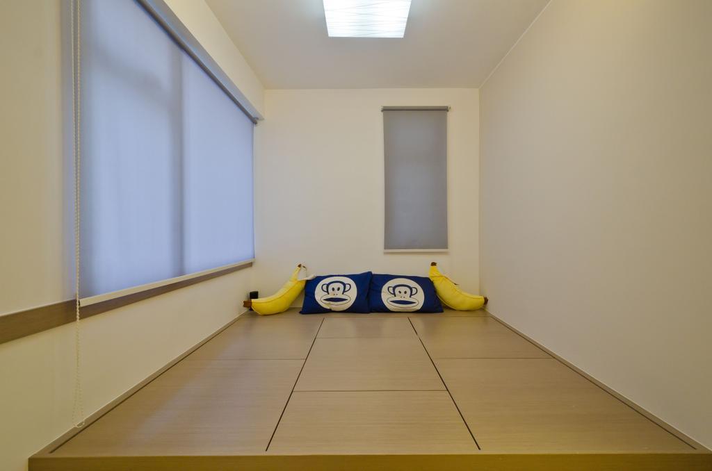 私家樓, 客廳, 華康大廈 4B, 室內設計師, 現時設計