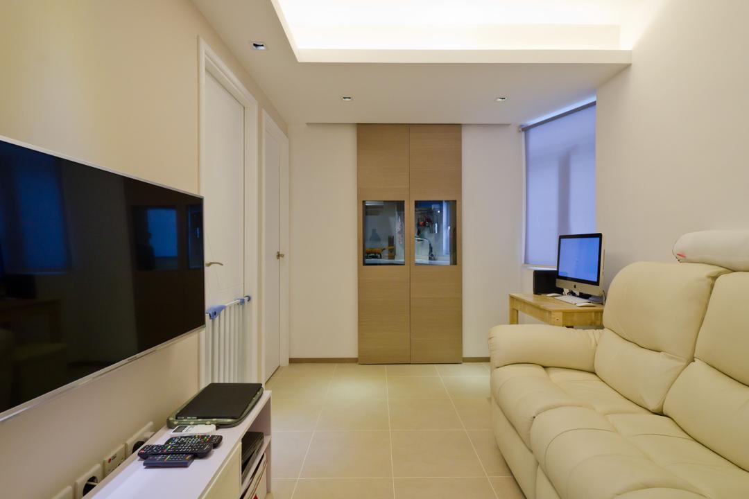 華康大廈 4B Living Room Interior Design 14