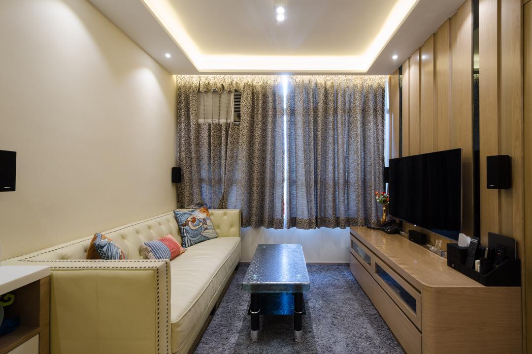 錦泰苑 Living Room Interior Design 8