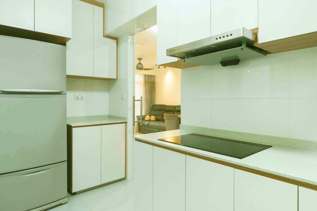 Contemporary, HDB, Kitchen, Sumang Walk, Interior Designer, Cozy Ideas Interior Design