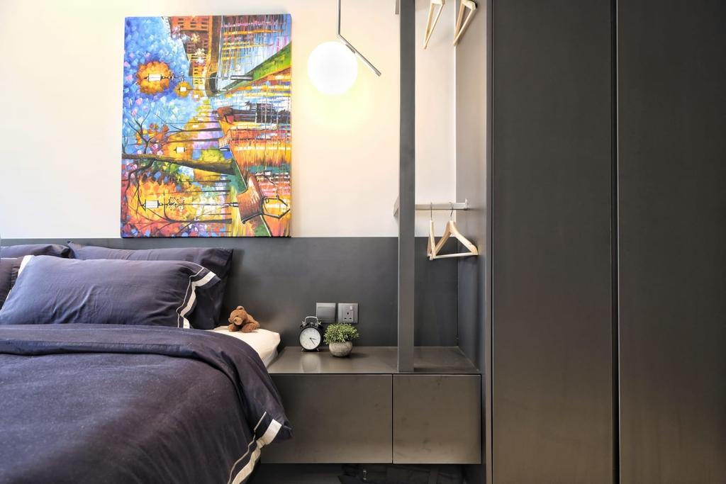 Contemporary, Condo, Bedroom, The Trumps, Interior Designer, United Team Lifestyle