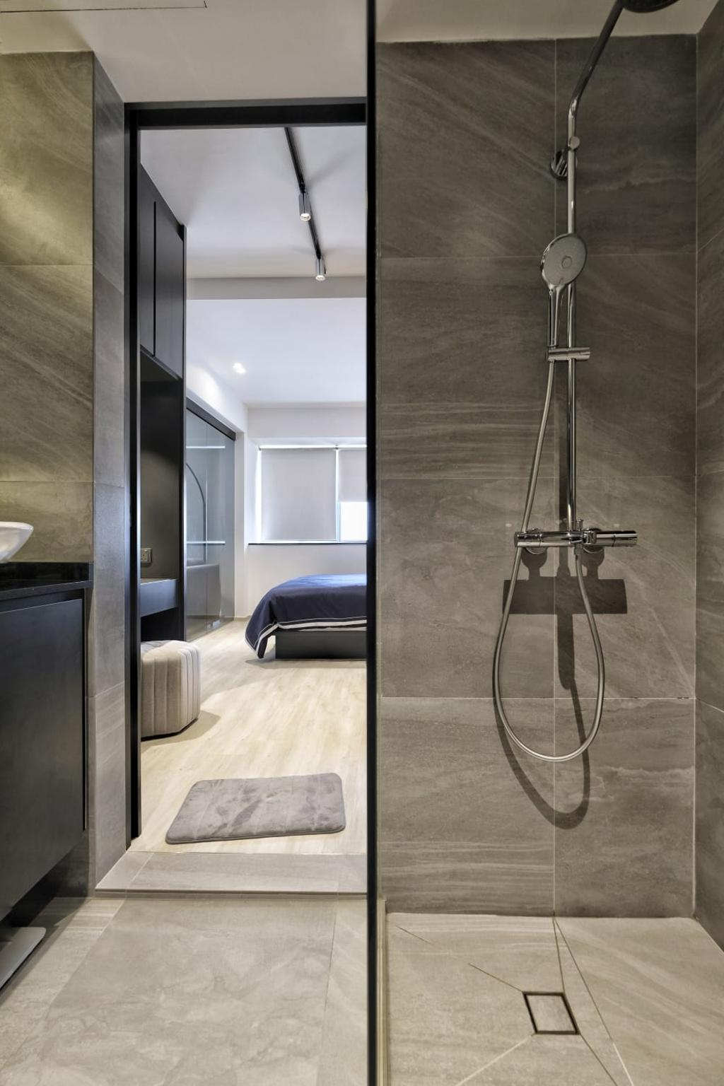 Contemporary, Condo, Bathroom, The Trumps, Interior Designer, United Team Lifestyle
