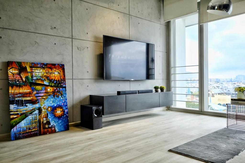 Contemporary, Condo, Living Room, The Trumps, Interior Designer, United Team Lifestyle