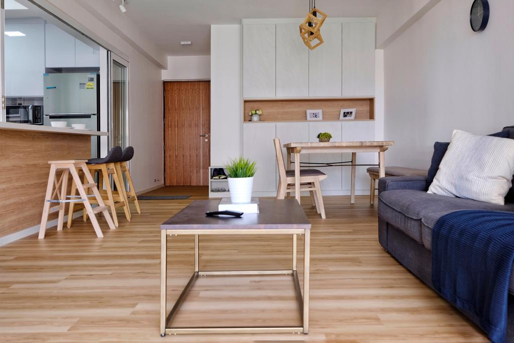 Scandinavian, HDB, Living Room, Bishan Street 24, Interior Designer, United Team Lifestyle