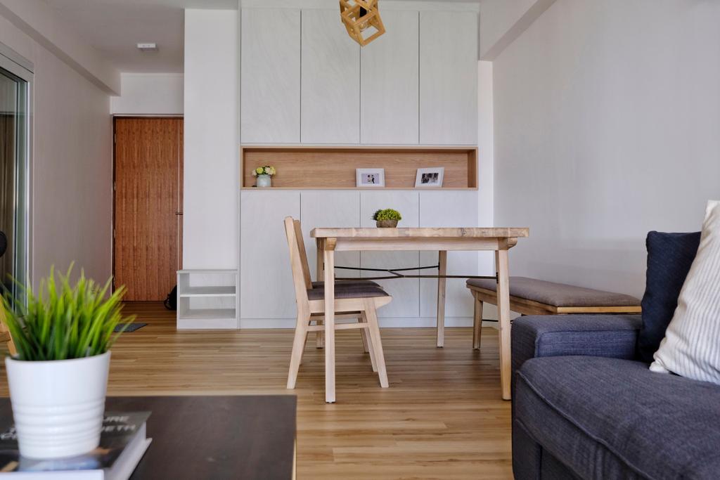 Scandinavian, HDB, Living Room, Bishan Street 24, Interior Designer, United Team Lifestyle