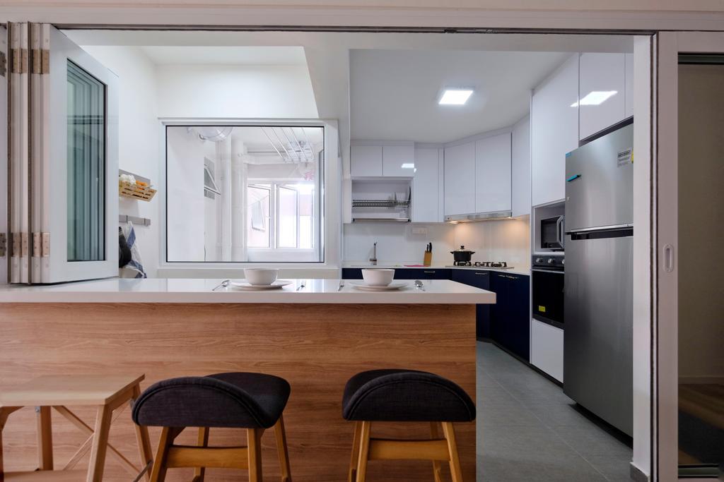 Scandinavian, HDB, Bishan Street 24, Interior Designer, United Team Lifestyle