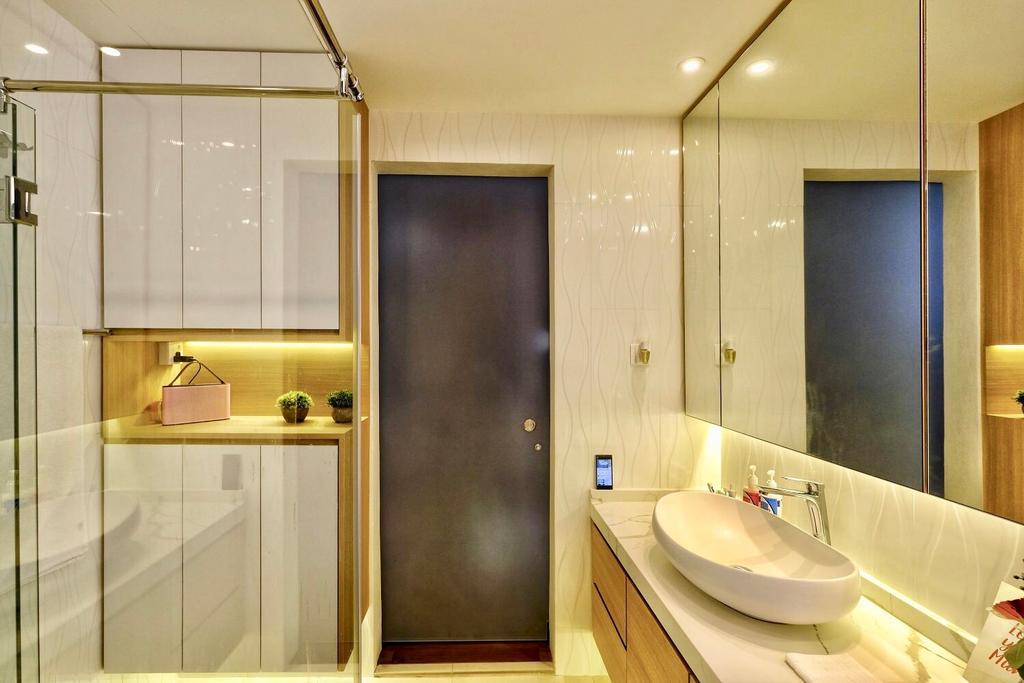 Contemporary, Condo, Bathroom, Thomson 800, Interior Designer, United Team Lifestyle