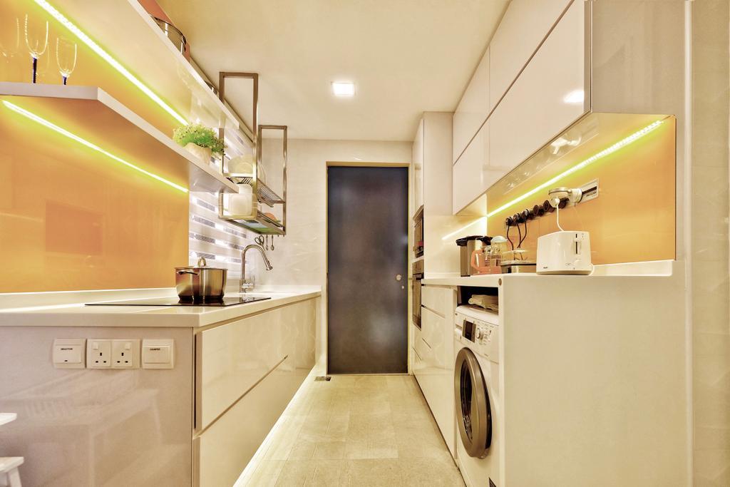 Contemporary, Condo, Kitchen, Thomson 800, Interior Designer, United Team Lifestyle