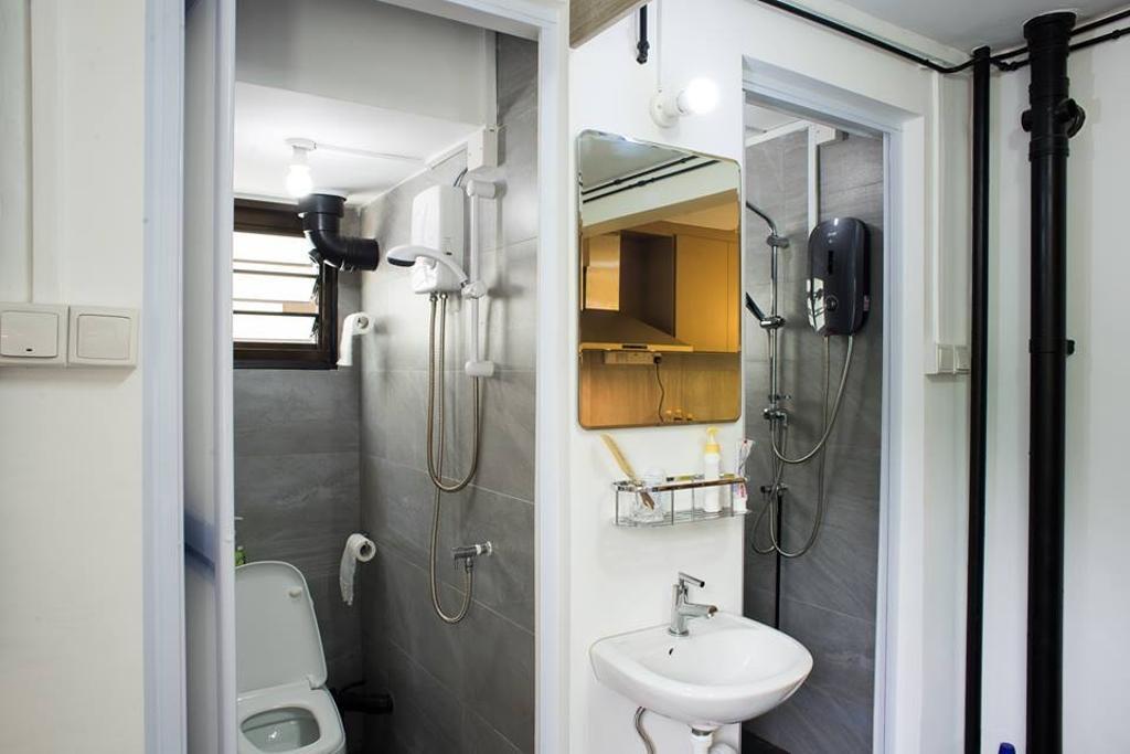 Modern, HDB, Bathroom, Sumang Lane, Interior Designer, Bob's Construction & Engineering