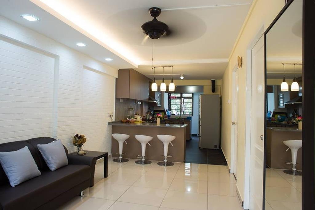 Modern, HDB, Living Room, Sumang Lane, Interior Designer, Bob's Construction & Engineering